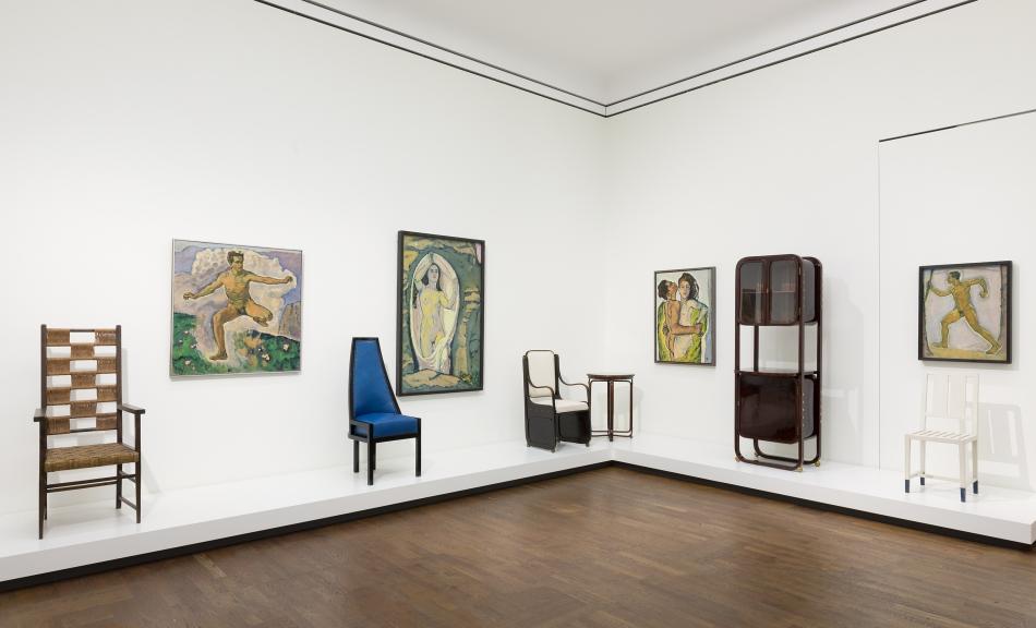 """Ausstellungsansicht """"Wien 1900. Aufbruch in die Moderne"""", 2019 017 © Leopold Museum, Wien Foto: Lisa Rastl"""