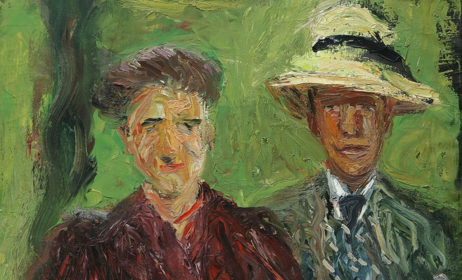 Richard Gerstl, Couple in the Field, 1908 © Leopold Museum, Vienna, Inv. 645