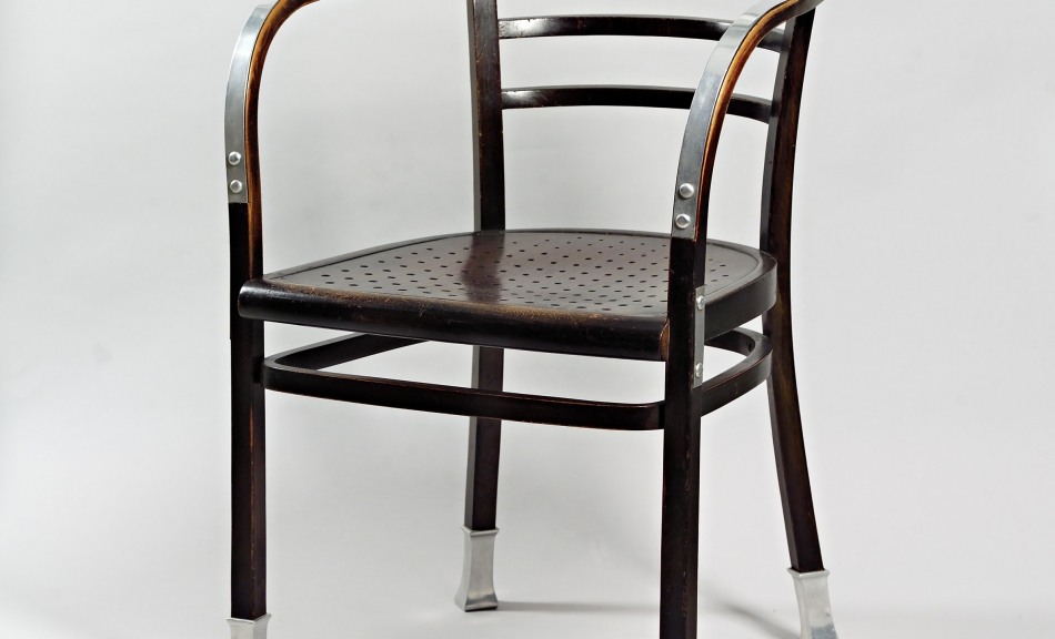 Otto Wagner, Bentwood Armchair, mod. num. 6516. Designed for the Postsparkasse in Vienna, 1902 © Leopold Museum, Vienna, Inv. 4157