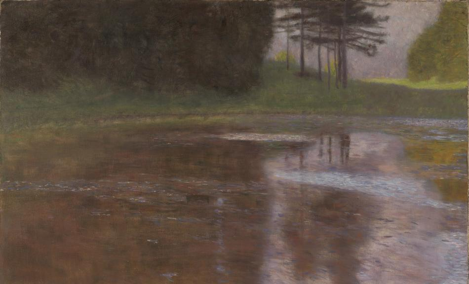 Gustav Klimt, A Morning by the Pond, 1899 © Leopold Museum, Vienna, Inv. 2007