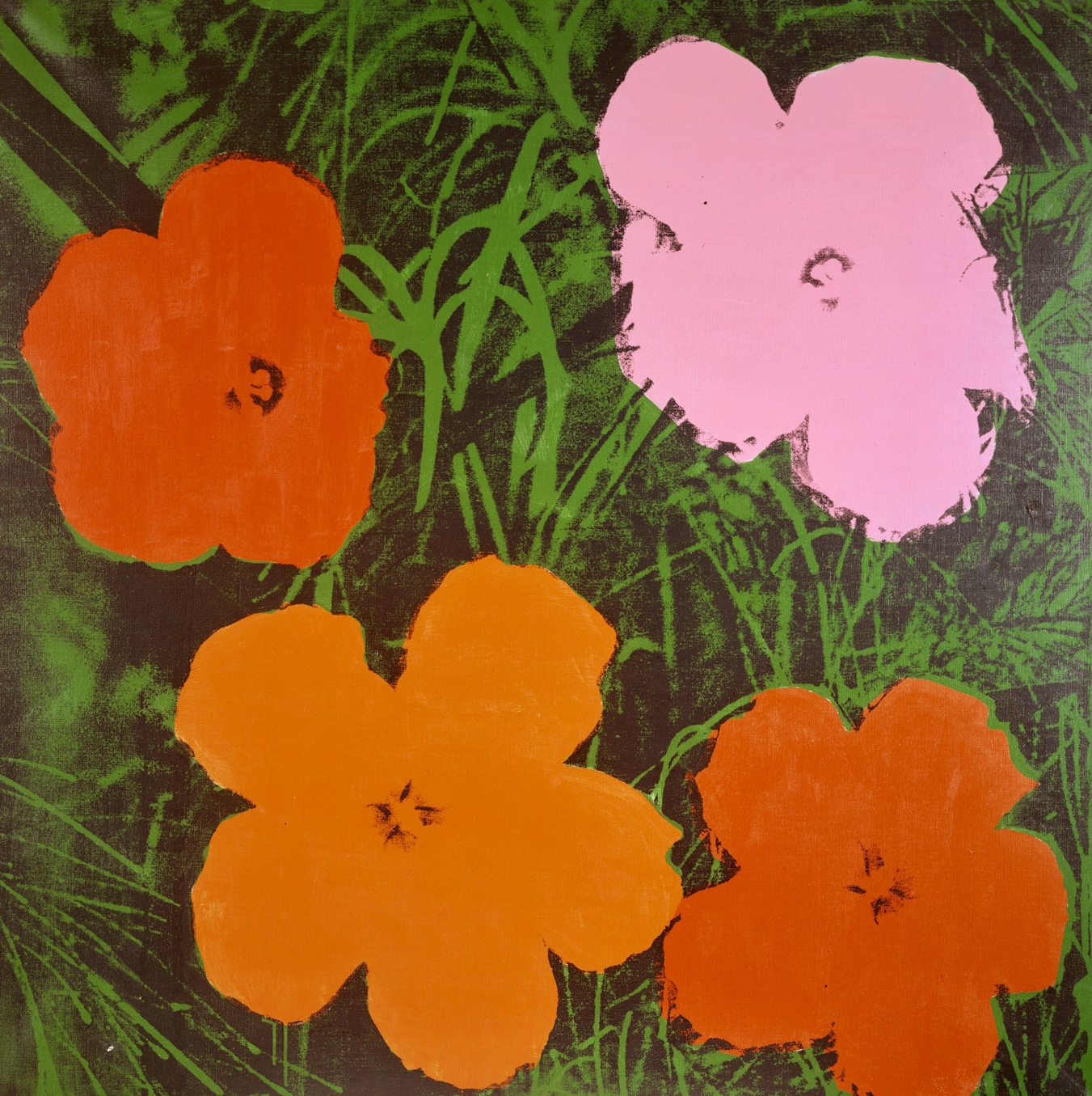 ANDY WARHOL, Four-Foot Flowers, 1964 ©Courtesy Heidi Horten Collection | Foto: Courtesy Heidi Horten Collection The Andy Warhol Foundation for the Visual Arts, Inc. / Licensed by Bildrecht, 2017